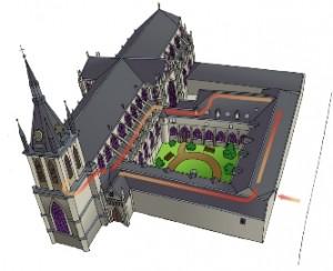 Cathédrale, Maquette