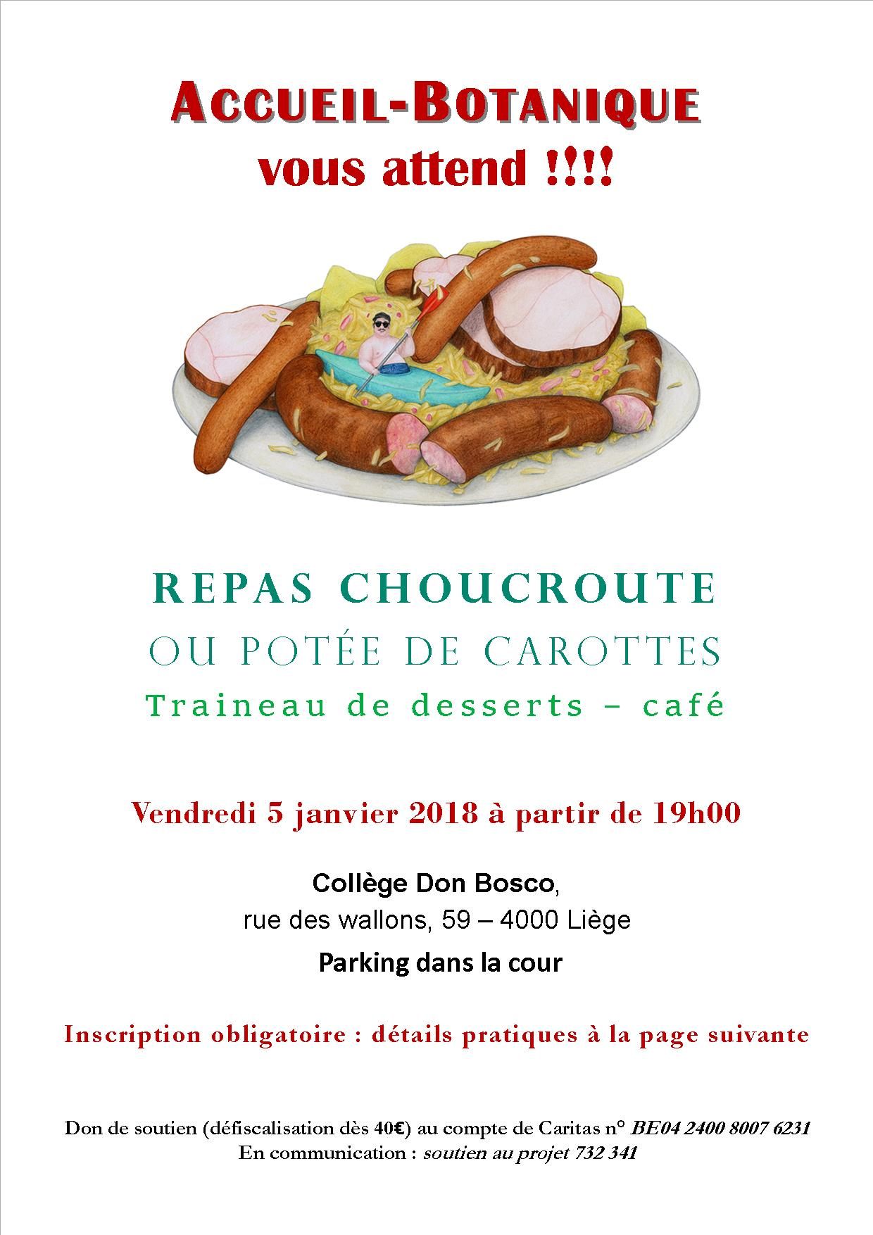 repas choucroute 2018