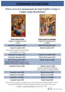 Sant'Egidio 2019-2020