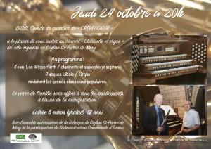 20191024 • Concert clarinette et orgue