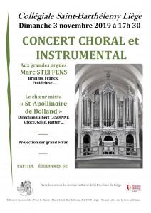 20191103 • Concert choral et instrumental